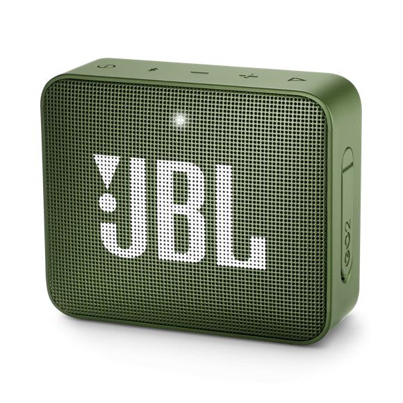 JBL - GO 2 Portable Bluetooth Speaker Moss Green - E