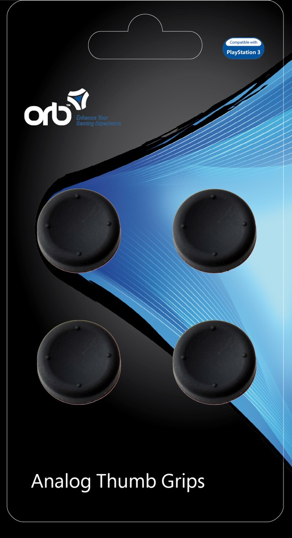 Playstation 3 - Analog Thumb Grips (ORB)