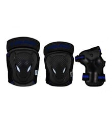 Head - Safty Set - Black/Blue - (PO.7 BLUE XS)