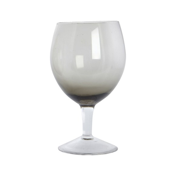 House Doctor - Ball Wine Glass Set of 4 - Grey (BE0491)