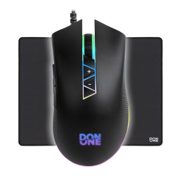 DON ONE – SALERNO Gaming Mouse + AMATO Mousepad Large
