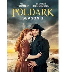 Poldark - Sæson 3 - DVD
