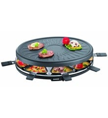 Severin - Raclette 8 pers. 1100 watt - Black (494900)