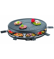 Severin - Raclette 8 pers. 1100 watt - Sort
