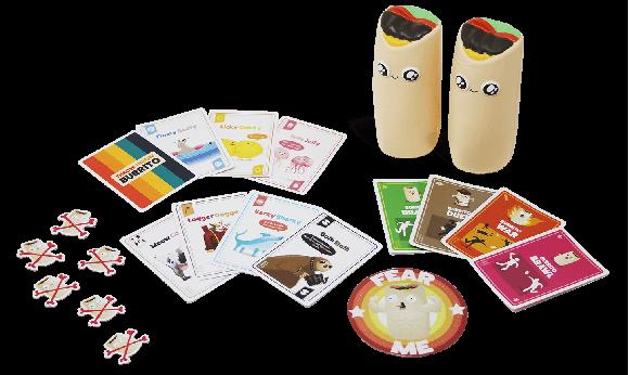 Throw Throw Burrito - A Dodgeball Card Game (TTBCORE1)