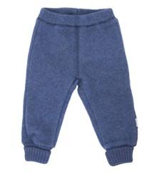 Mikk-line - Uld bukser - Blå (50004-276)