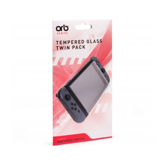 Nintendo Switch Tempered Glass 2 Pack
