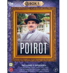 Poirot - Box 1 - DVD