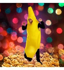 Banan Kostume - Voksen - Onesize