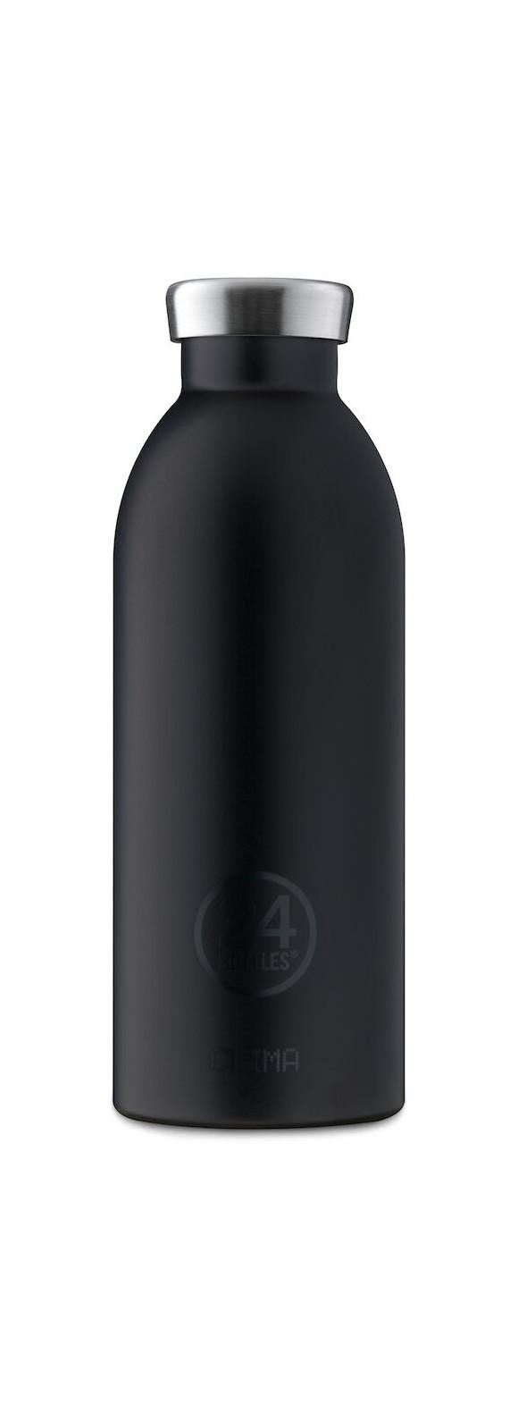 24 Bottles - Clime Bottle 0,5 L - Tuxedo Sort