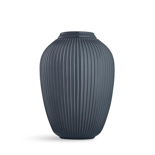 Kähler - Hammershøi Floor Vase - Antracit Grey (692391)