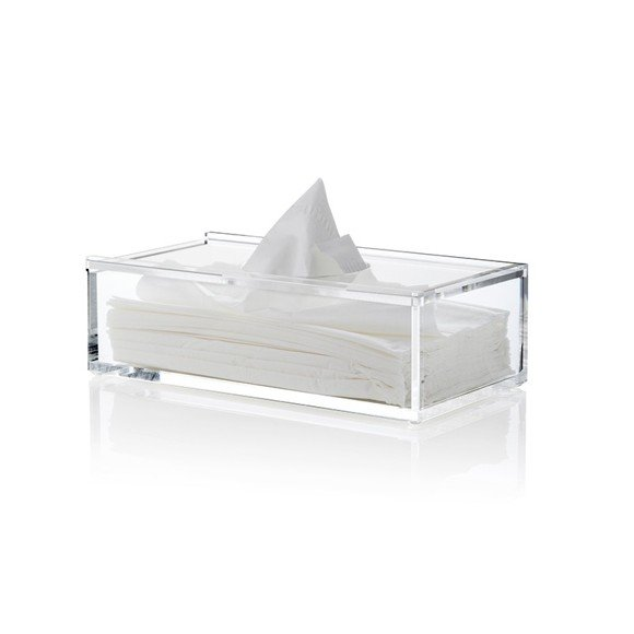 Nomess Copenhagen - Clear Tissue Box - Clear