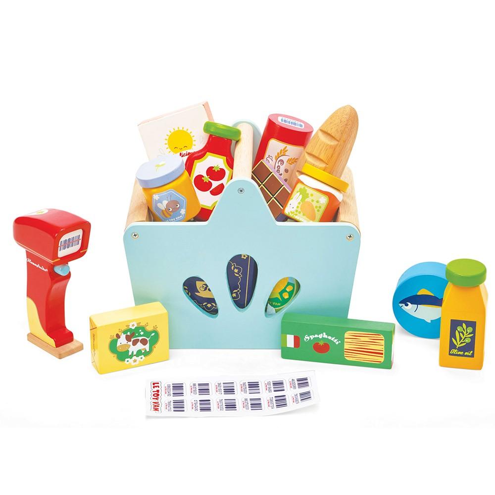 Le Toy Van - Einkaufskorb und Scanner (LTV326)
