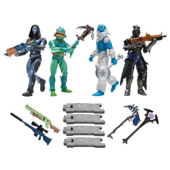 Fortnite - 10 cm Figure 4 Pack Squad Mode 14cm(922-0019)