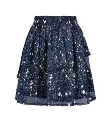 Creamie - Skirt w. Spray Print