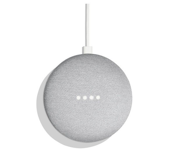 Google Home Mini Speaker - Chalk