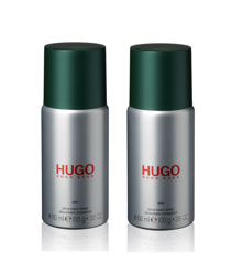 Hugo Boss - 2x  Hugo Man Deodorant Spray 150 ml