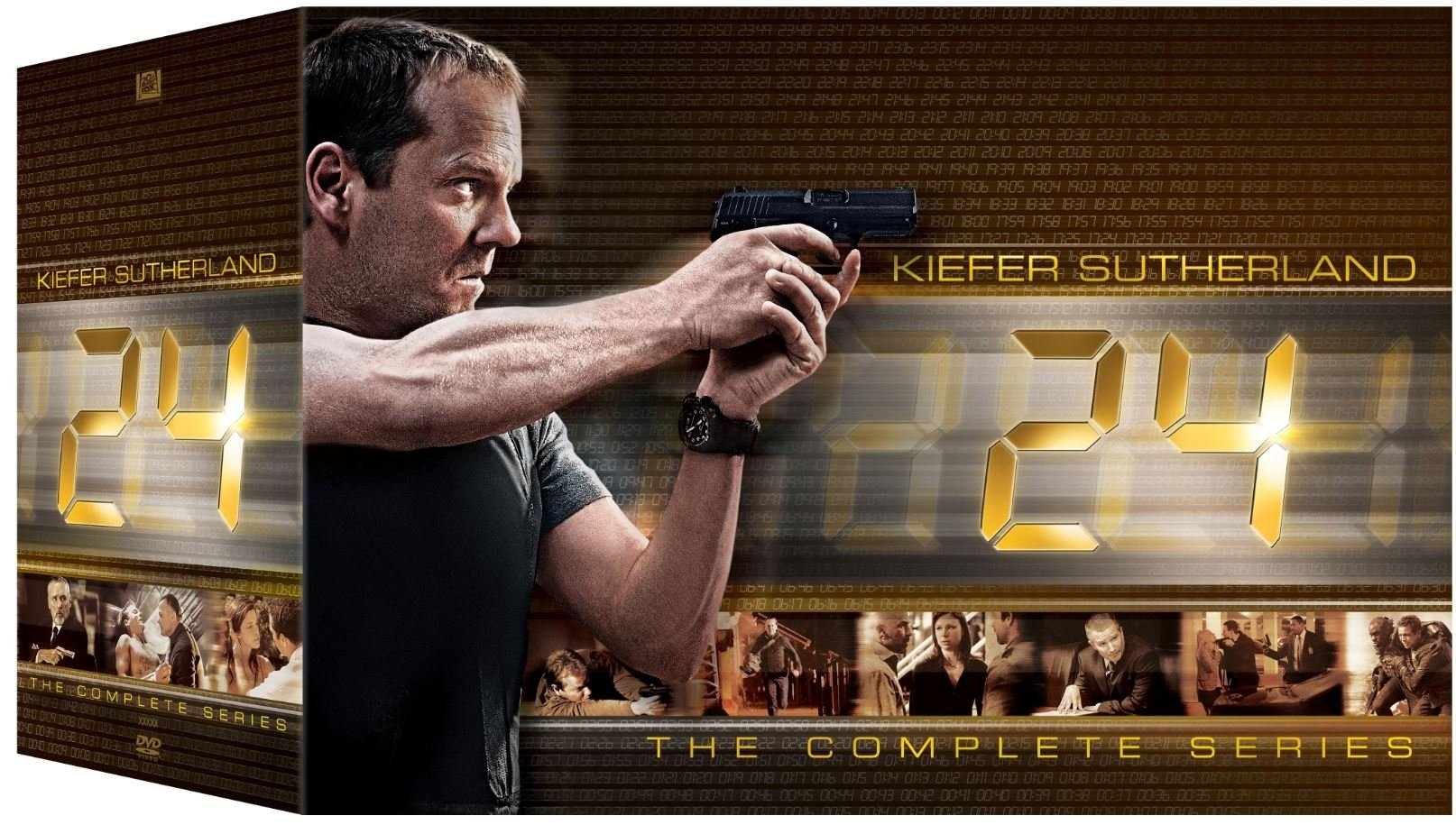 Bilde av 24: Complete Box - Season 1-9 + Redemption + Live Another Day (58 Disc) - Dvd