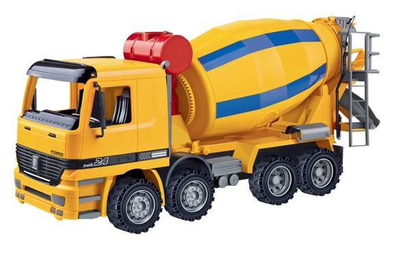 Contruck - Lastbil med Betonmblander (41 cm.) (520085)