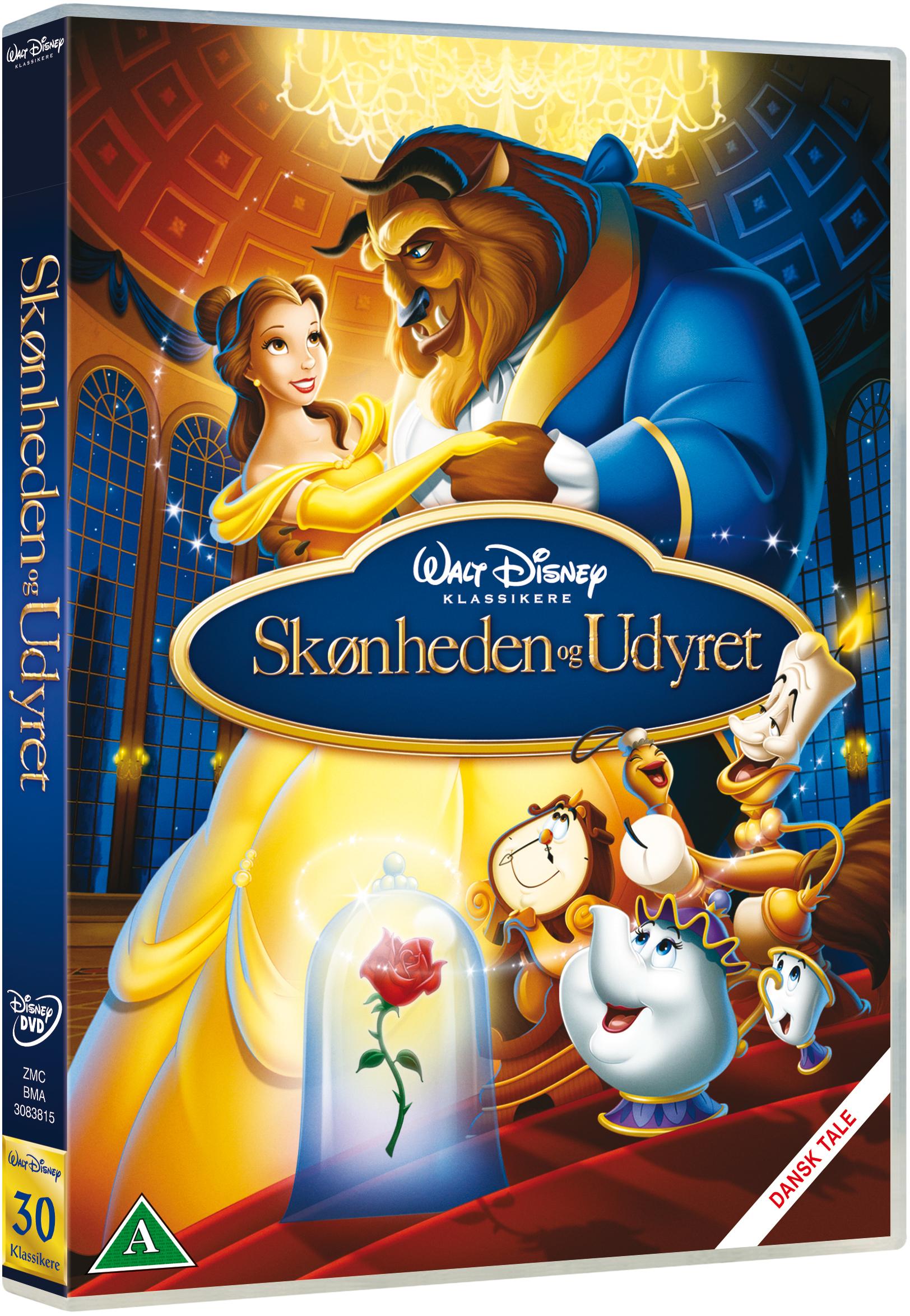 Skønheden og udyret Disney classic #30