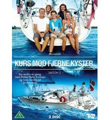 Kurs mod fjerne kyster - season 2 - DVD