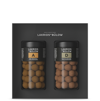 Lakrids By Bülow - ?Black Box A & D Choclade Coated Liquorice 590 g (500214)