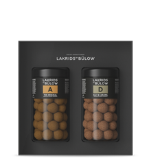 Lakrids By Bülow - ​Black Box A & D Choclade Coated Liquorice 590 g (500214)