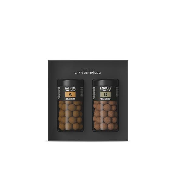 Lakrids By Bülow - Black Box A & D Choclade Coated Liquorice 590 g (500214)