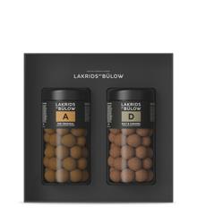 Lakrids By Bülow - Black Box  – A & D Chokolade Overtrukket Salt Lakrids 590 g
