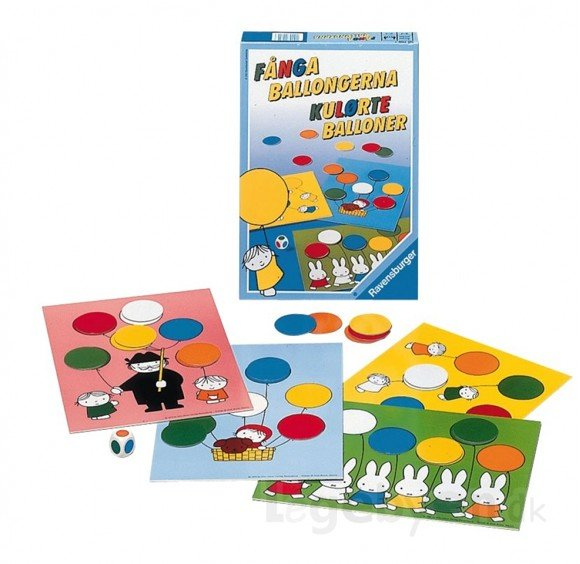 Ravensburger - Colored Balloons Game (10700709)