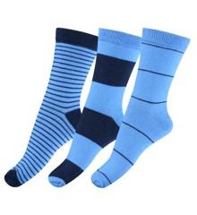 Melton - Numbers 3 Pack Socks - Stripes