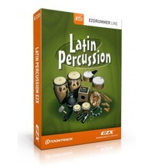 Toontrack - EZX Latin Percussion - Udvidelses Pakke Til EZdrummer (DOWNLOAD)