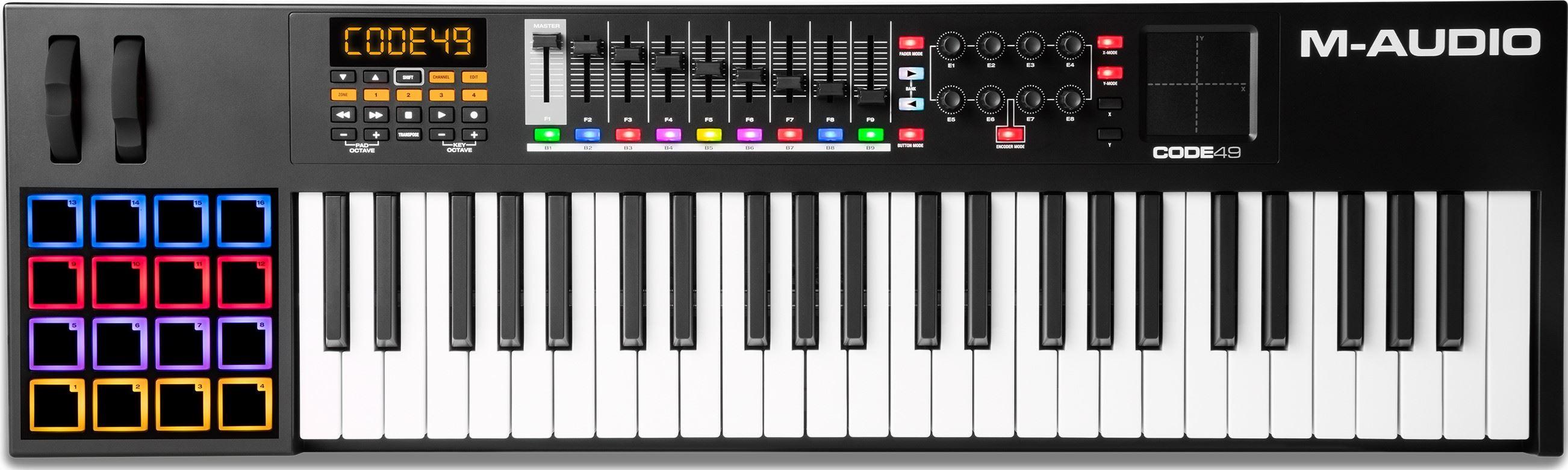 Kjøp M-Audio - Code 49 Black - USB MIDI Keyboard