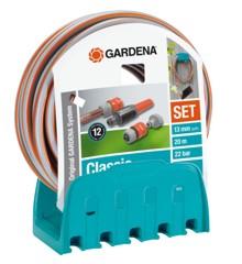Gardena - Vægslangeholder Med Slange