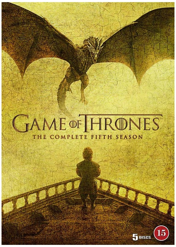 Game of Thrones: Sæson 5 - DVD