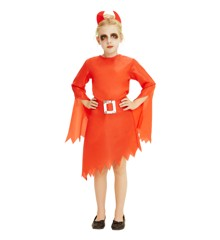 Children Costume - Girls Devil - Size 128