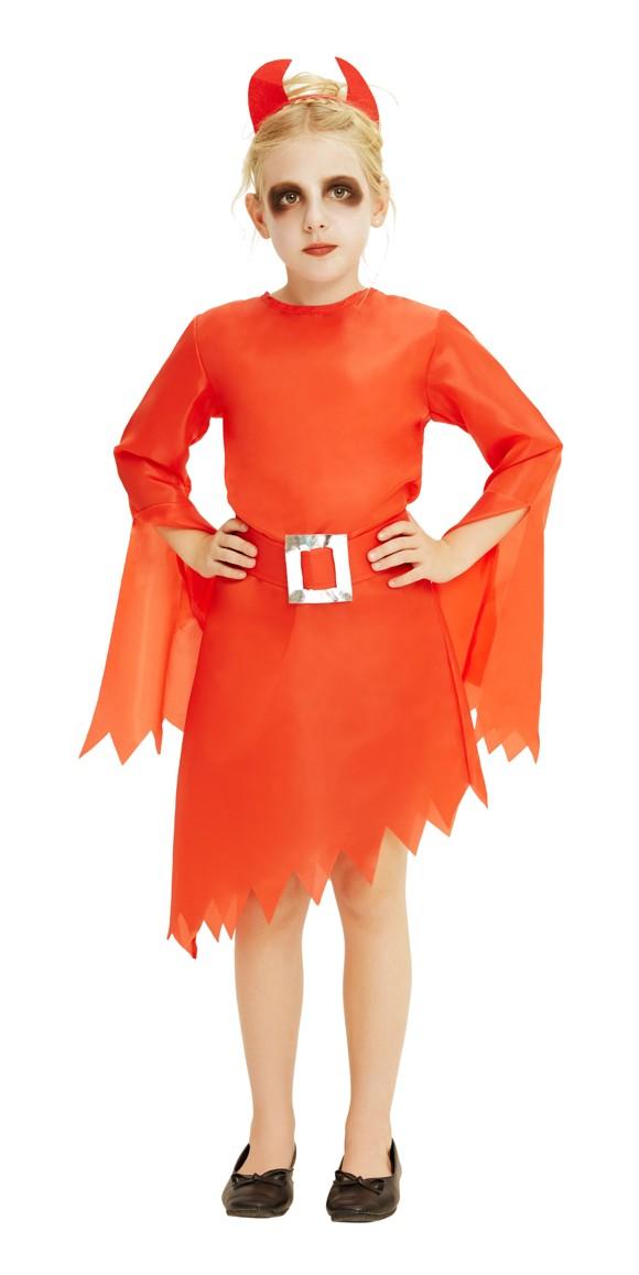 Children Costume - Girls Devil - Size 128