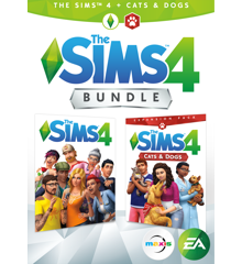 The Sims 4 + Cats & Dogs (Code via Email)