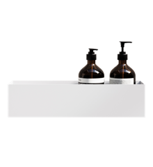 Nichba - Bath Shelf 40 Opbevaringshylde - Hvid