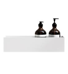 Nichba - Bath Shelf 40 Oppbevaringshylle - Hvit
