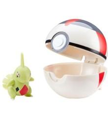 Pokemon - Clip'N Go - Larvitar (5 cm)