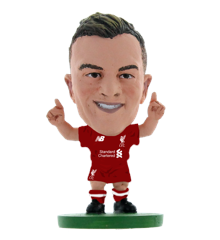 Soccerstarz - Liverpool Xherdan Shaqiri - Home Kit (2020 version)