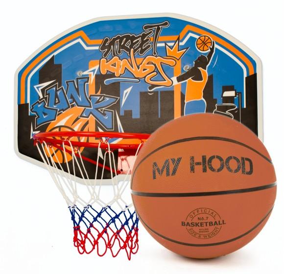 My Hood basketballkurv på Plade