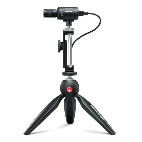 Shure - MV88+ Video Kit - Digital Stereo Condenser Microphone