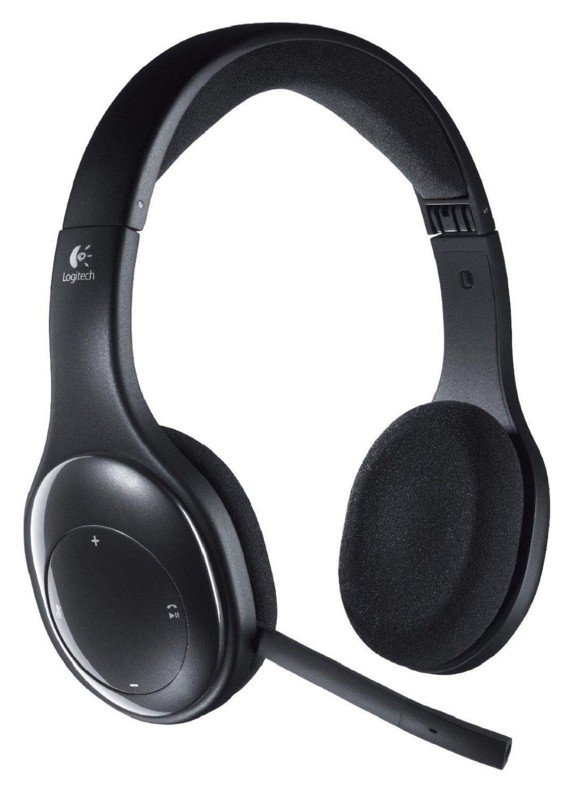 Logitech H800 Bluetooth Wireless Headset for PC and Mac - Black