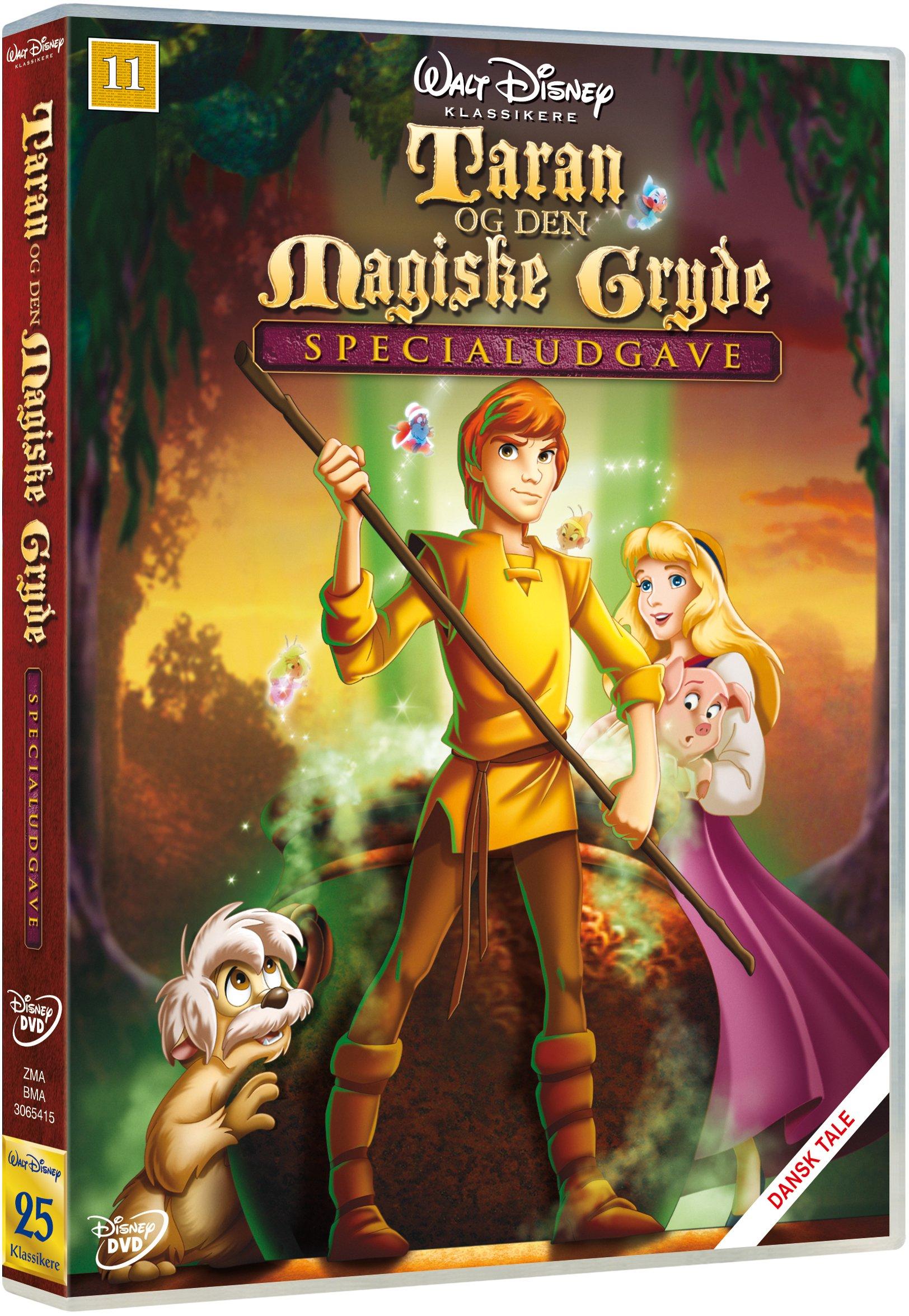 Taran og den magiske gryde Disney classic #25