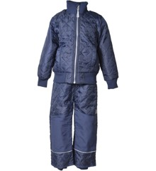 Mikk-line - Basic Thermo Set w/ Fleece - Navy (4003-286)