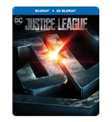 Justice League - Steelbook (3D Blu-Ray)
