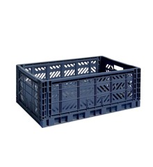 HAY - Colour Crate Large - Navy (507683)