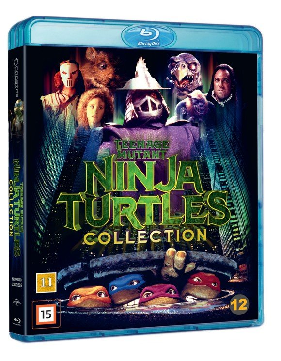 Teenage Mutant Ninja Turtles Box - Blu ray